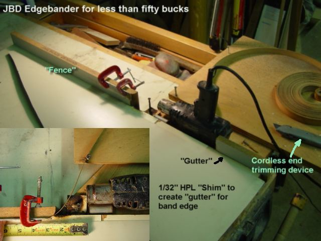 Small-shop edgebander? - FineWoodworking