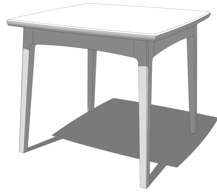 SketchUp: How To Model Continuous Curves Across Parts