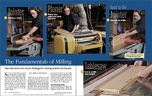 The Basics of Milling Lumber spread