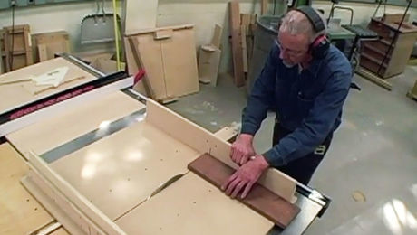 How To Crosscut Lumber on the Tablesaw