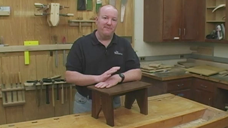 Start Woodworking: Small step stool