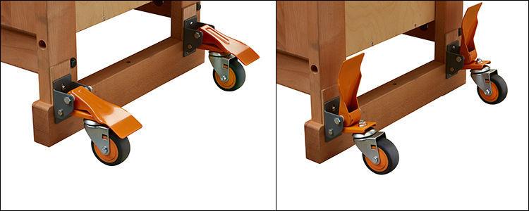 Tool News Bora Tool S New Pm 900 Workbench Caster Kit Set