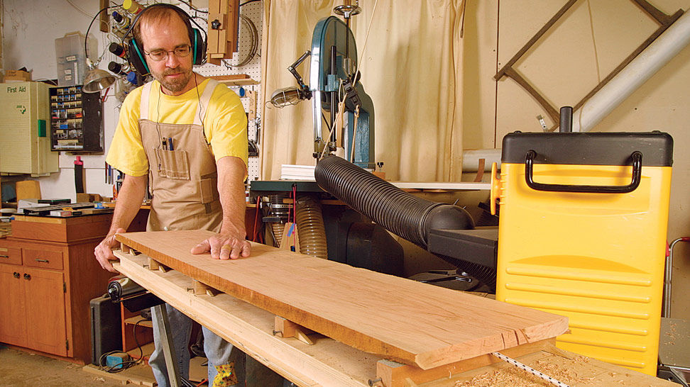 How To Flatten Boards Without A Jointer Finewoodworking