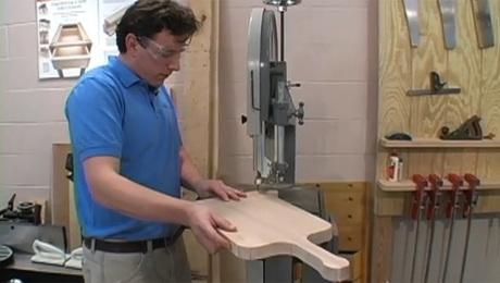 make a cutting board