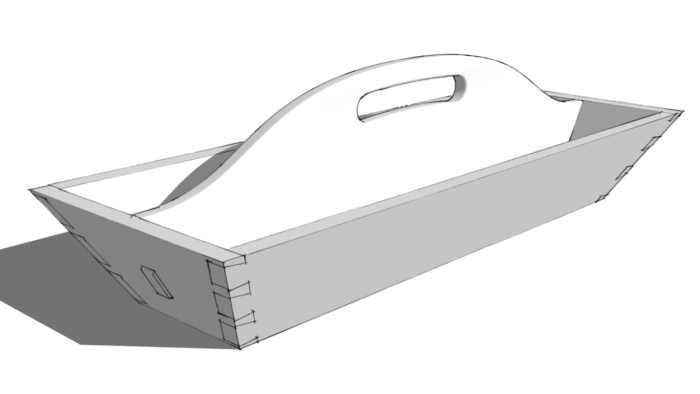 Cutting Angled Dovetails in SketchUp