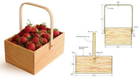 shaker berry box