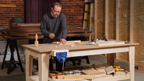 Magnificent Workbenches Finewoodworking Machost Co Dining Chair Design Ideas Machostcouk