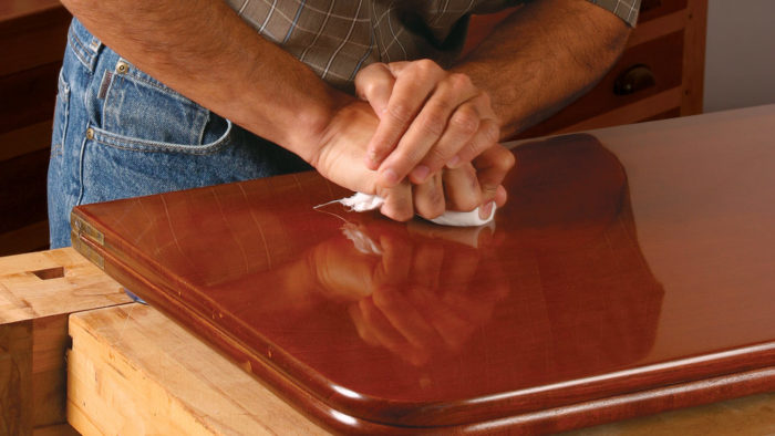A perfect French polish finish - FineWoodworking