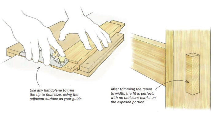 Workshop Tip: Perfect Through-Tenons Every Time