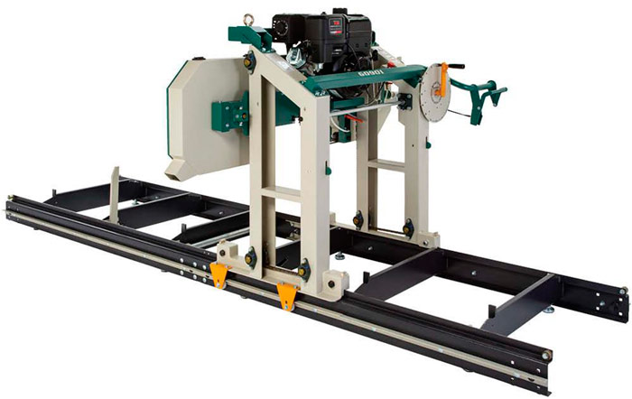 """Grizzly Model G0901 28"""" Portable Sawmill"""