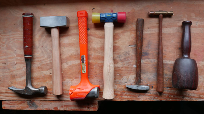 Toolbox show and tell – Hammers and mallets