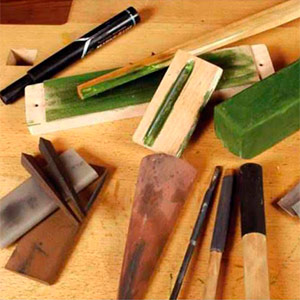 Sharpening book, Carving Tools