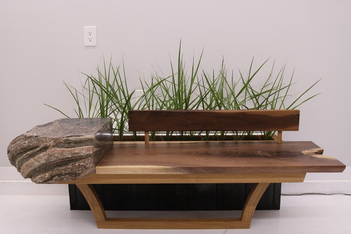 Contemporary Garden Bench Finewoodworking