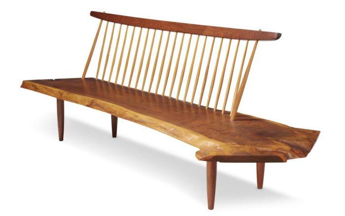 George Nakashima, Conoid bench