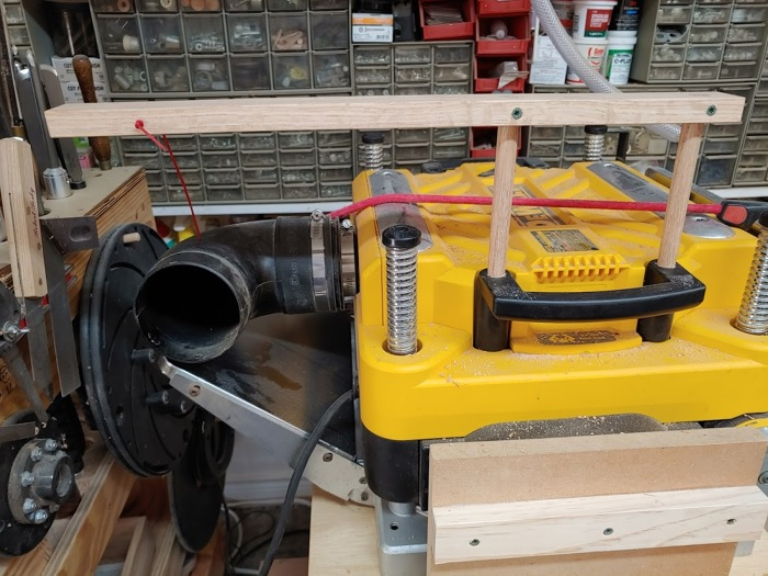 Tip Cure For Planer Dust Collection Chute Finewoodworking