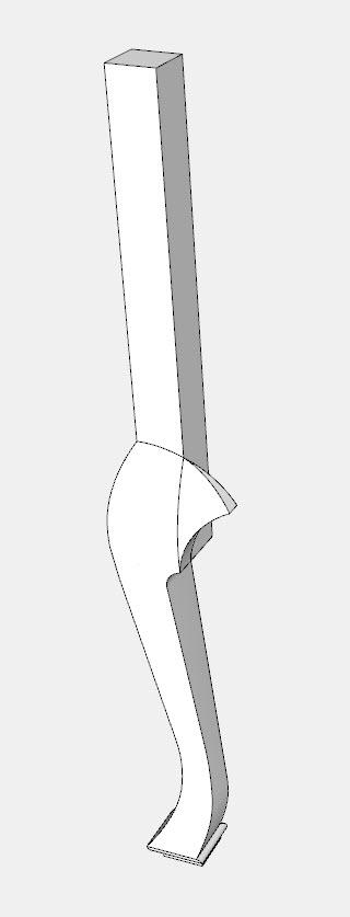 Criando faces curvas complexas no SketchUp 16