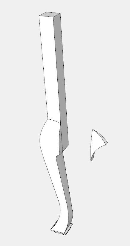 Criando faces curvas complexas no SketchUp 19