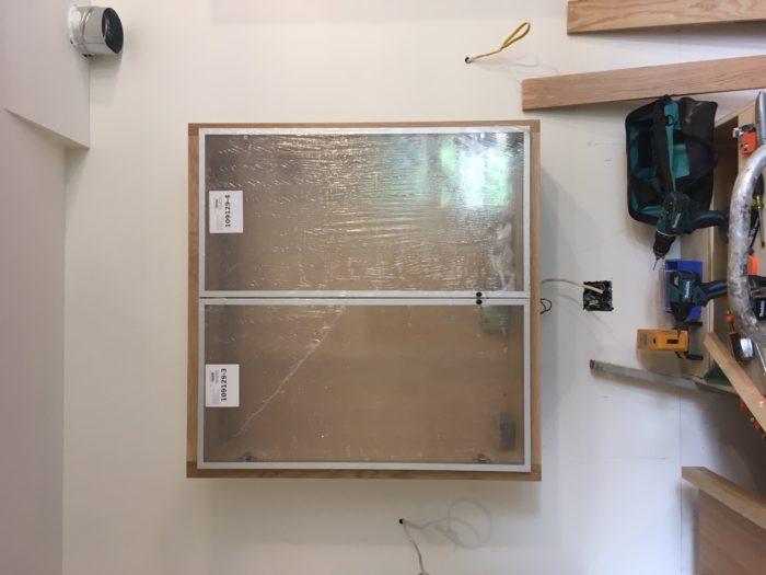 Como construir prateleiras suspensas com iluminação integrada, Parte 2: Instalação 42