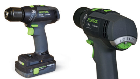 Drill by Festool Model T 18+3 $300 for bare tool, $500 for kit