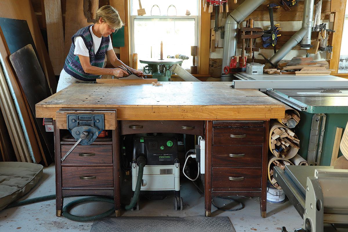 office desk as workbech
