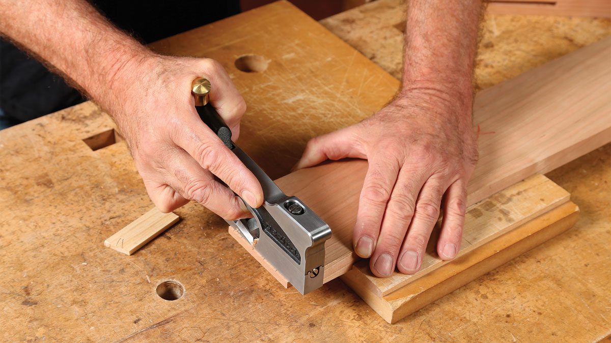 Like any plane, a shoulder plane that is not properly tuned up and sharpened will not work to its fullest potential.