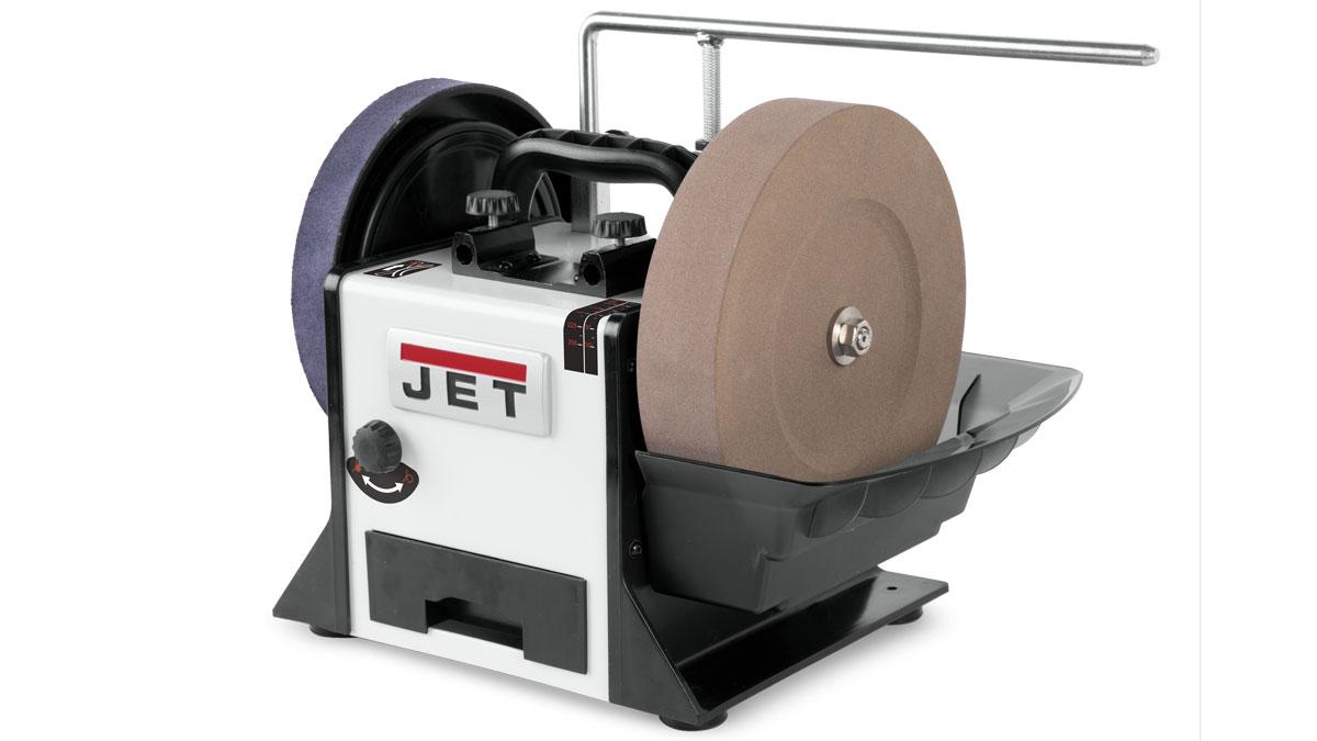JWS-10 variable speed wet sharpener by Jet.