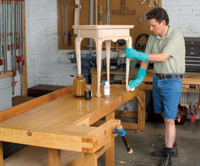 preparing workpiece surfaces