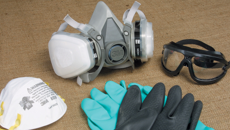 Safety Equipment for finishing