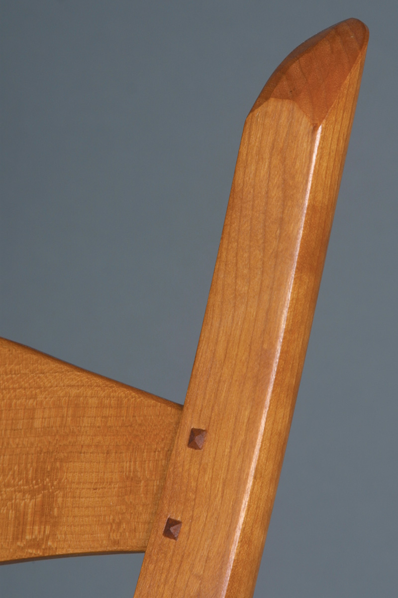 varnish on a cherry chair
