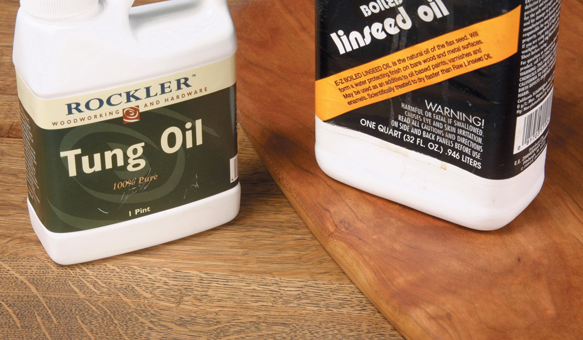 Linseed and tung oil
