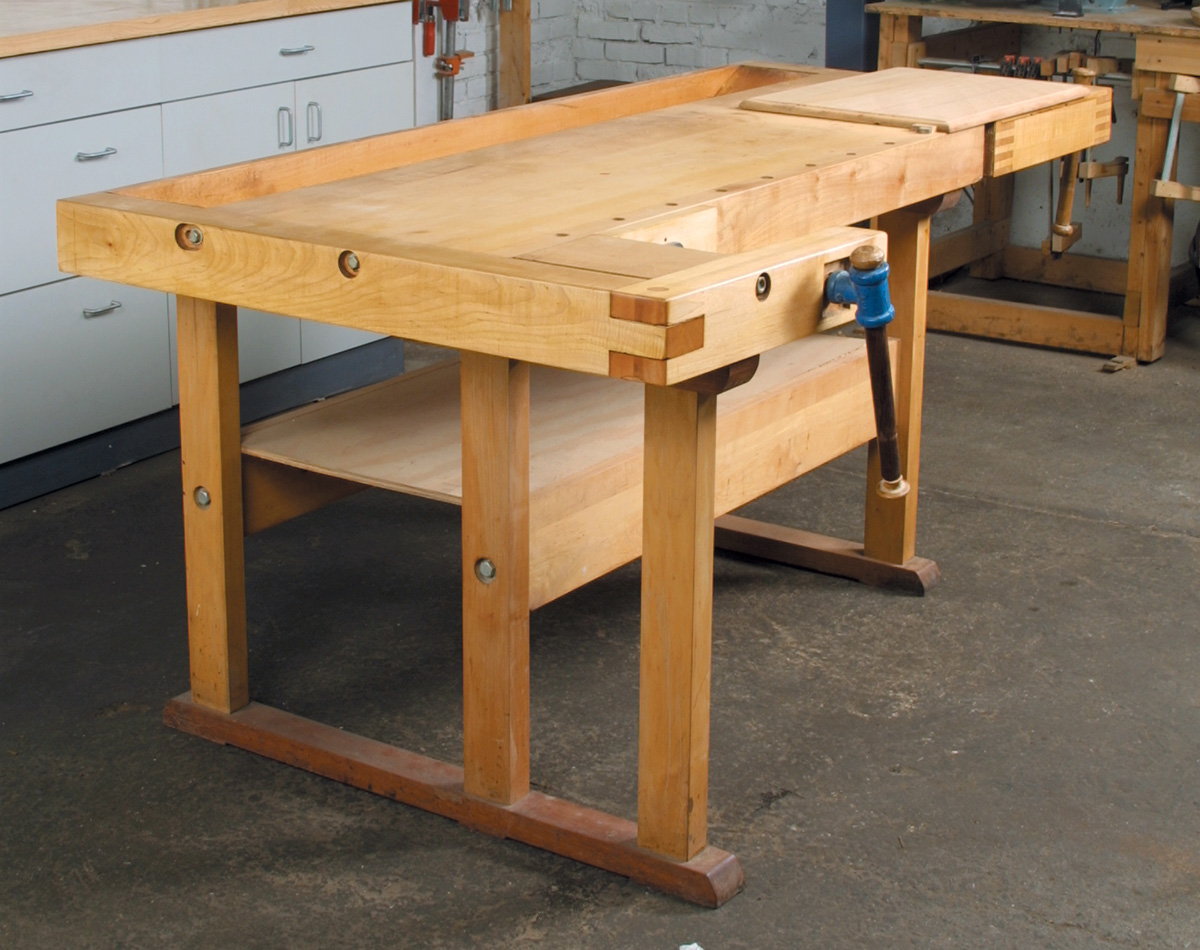 cabinetmakers-style bench