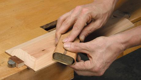 flattening by hand