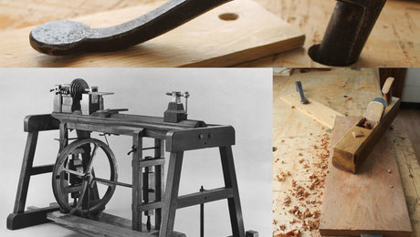 18th century woodworking tools