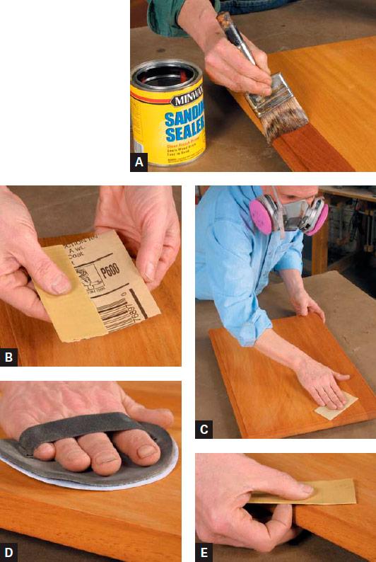 Brushing Sealers
