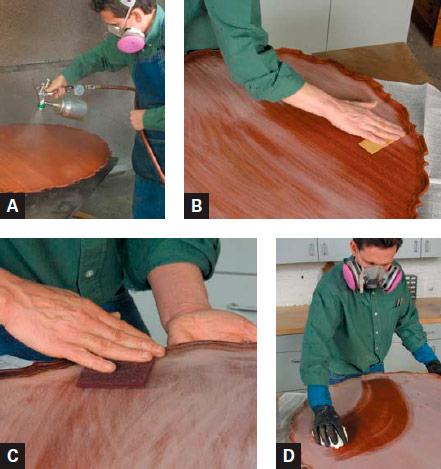 Spraying Sanding Sealer