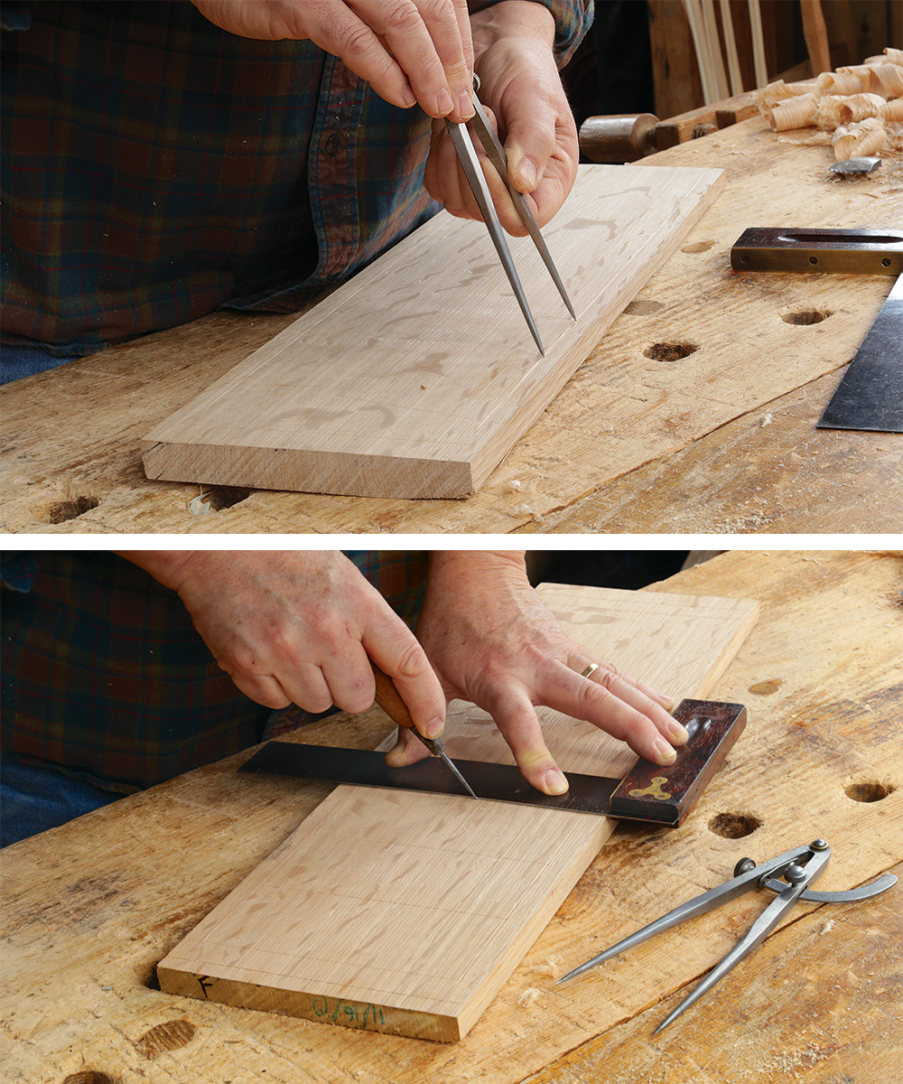 laying out your carving