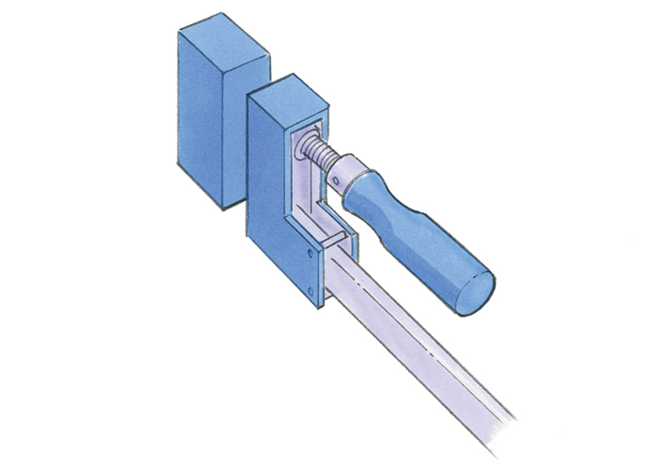 clamp handle