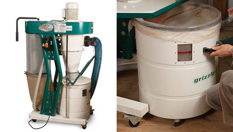 Grizzly G0860 dust collector