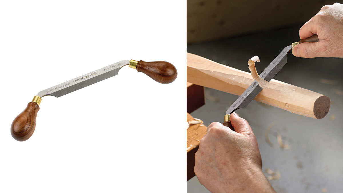 Drawknife with tougher steel