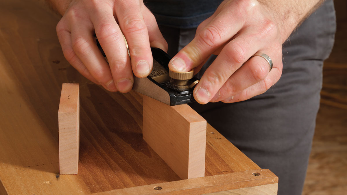 Use the drawer fronts as assembly spacers.
