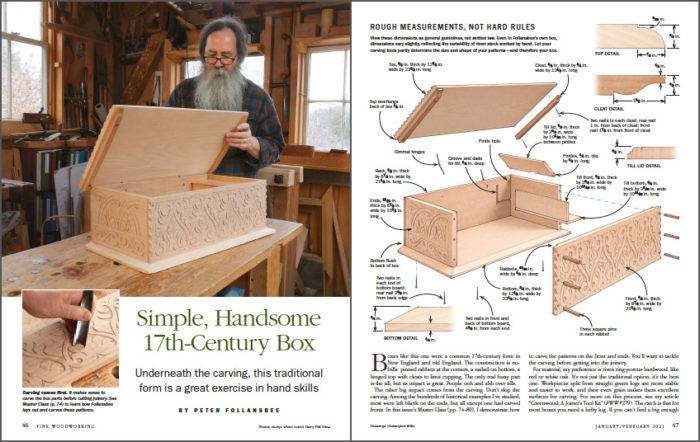 Simple, Handsome 17th-Century Box