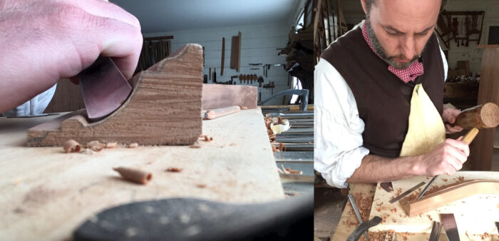 carving moldings with hand tools