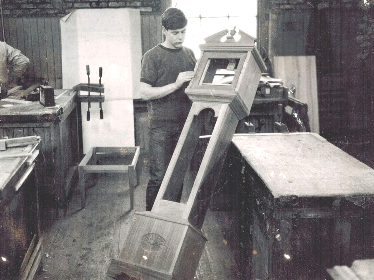 Phil Lowe while a student at NBSS