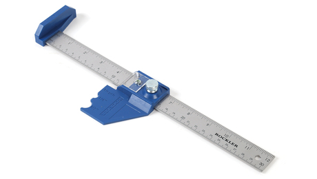 Rockler router bit center depth gauge