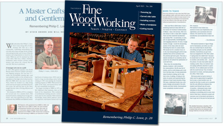 Fine Woodworking #288