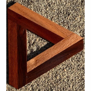 2-D Penrose triangle in ood