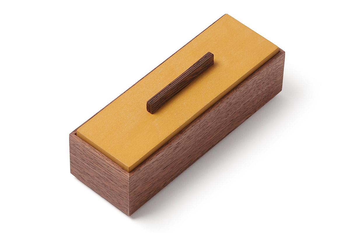 walnut box with lid