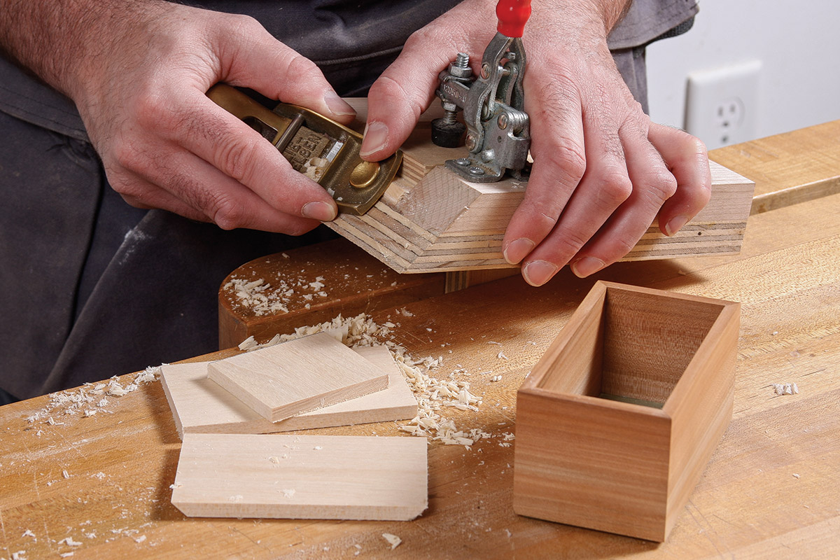 Miter the sides