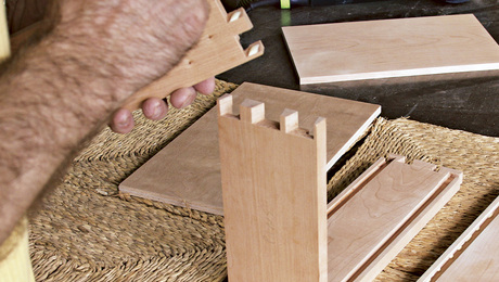 How to Assemble a Dovetailed Box