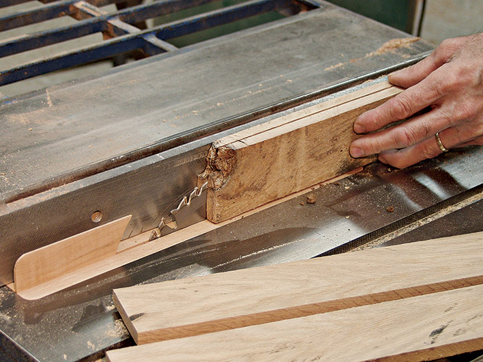 Resaw at the tablesaw
